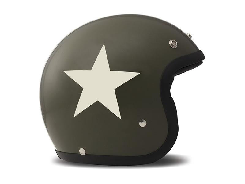 Star Green Helmschale aus Glasfaser 3
